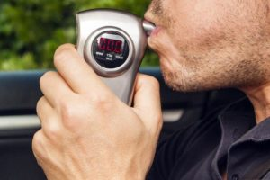 Person refuses a Breathalyzer in Manhattan