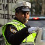 Traffic cops in New York
